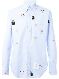 embroidered shirt Thom Browne