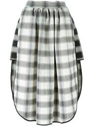 асимметричная юбка с сетчатым принтом Vivienne Westwood Anglomania