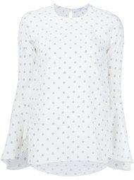 блузка с принтом звезд Givenchy