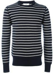 трикотажный свитер в полоску Ami Alexandre Mattiussi