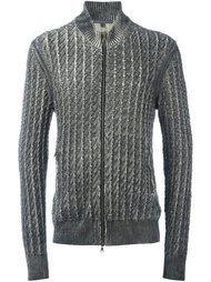 свитер на молнии John Varvatos