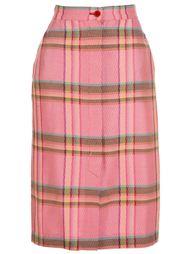 юбка в клетку Missoni Vintage