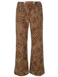 слегка расклешенные брюки  Roberta  Di Camerino Vintage