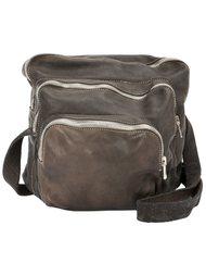 сумка через плечо с карманами на молнии Guidi