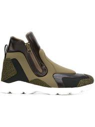 кроссовки с панельным дизайном  Mm6 Maison Margiela