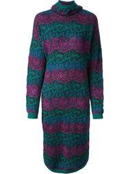 длинное вязаное платье с узором Missoni Vintage