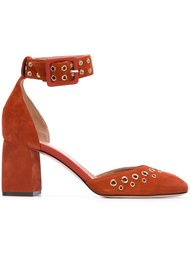 туфли с люверсами Red Valentino