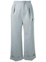 turn up hem trousers Fad Three