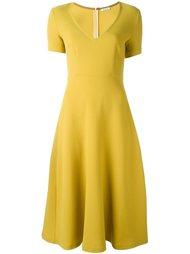 платье с V-образным вырезом P.A.R.O.S.H.