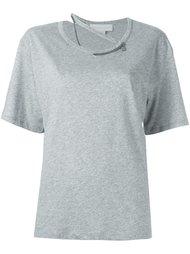 футболка 'Falabella' с цепочной деталью Stella McCartney