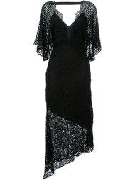 асимметричное платье 'Raw Intent' Manning Cartell