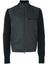 куртка-бомбер с панельным дизайном Y-3