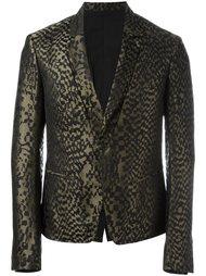 пиджак с абстрактным принтом Haider Ackermann