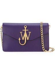 сумка-клатч с логотипом  J.W.Anderson