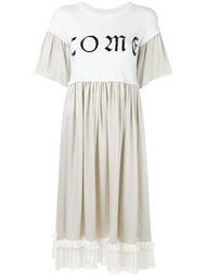 расклешенное платье Mm6 Maison Margiela