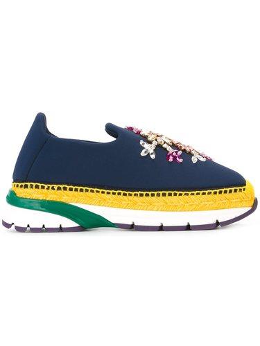 кроссовки-слипон 'Barcelona' Dolce & Gabbana