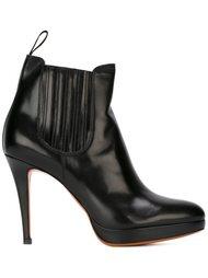 ботинки на шпильке Santoni