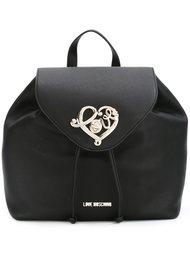 рюкзак с украшением в форме сердца Love Moschino