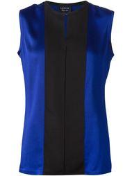 блузка с контрастными панелями Lanvin