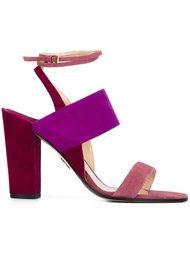 босоножки на массивных каблуках Paul Andrew