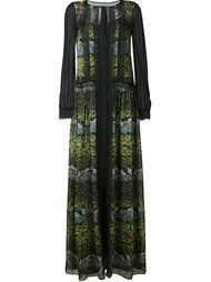 платье макси с принтом Alberta Ferretti