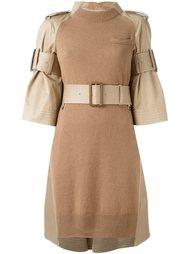 платье с поясом  Sacai