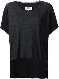 длинная футболка  Mm6 Maison Margiela