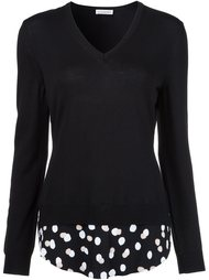 polka dot detail jumper Altuzarra