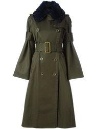 пальто в стиле милитари  Sacai