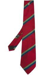 галстук в полоску Fendi Vintage