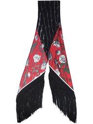 шарф с принтом роз Rockins