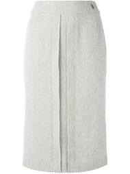 юбка прямого кроя Chanel Vintage