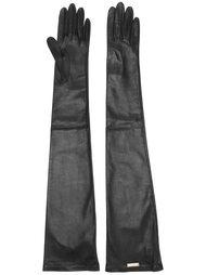 длинные перчатки Dsquared2