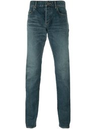 джинсы прямого кроя Saint Laurent