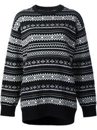 свитер в полоску Alexander Wang