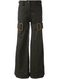 брюки в стиле милитари  Sacai