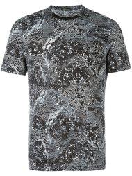 футболка с узором  Versace