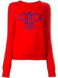 свитер с логотипом  Emilio Pucci