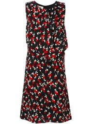 платье с цветочным принтом   Marni