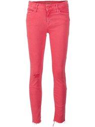 джинсы с необработанными краями   Mother