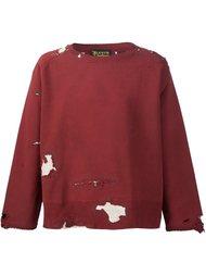 толстовка с рваными деталями   Levi's Vintage Clothing
