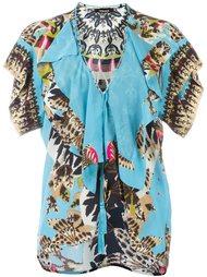 блузка с оборками 'Day Dream' Roberto Cavalli