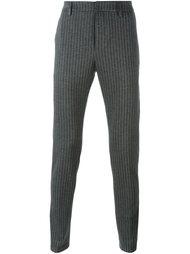 брюки в тонкую полоску Dondup