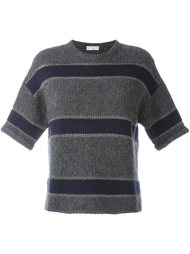 свитер в полоску Brunello Cucinelli