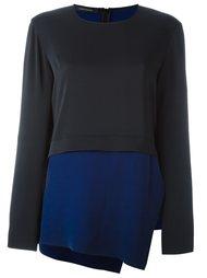 двухцветная блузка  Cédric Charlier
