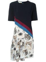 платье 'Bellucci' с узором в виде кошек Stella McCartney