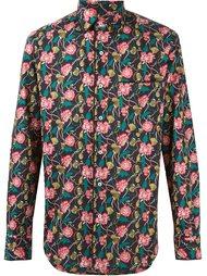 рубашка с цветочным принтом  Gabriele Pasini