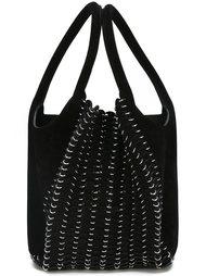 сумка-тоут с отделкой из кольчуги Paco Rabanne