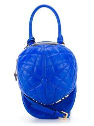 стеганая сумка-тоут в форме бейсболки  Moschino