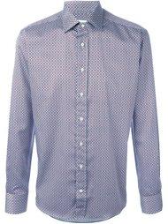 рубашка с мелким узором Etro